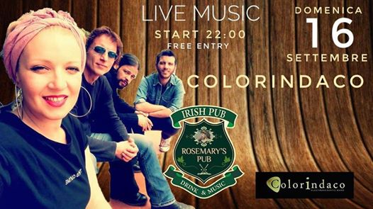 Colorindaco Live eventi Nicolosi eventi CT