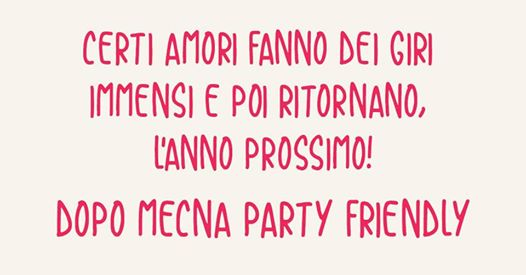 Ciao Eremo! Il Party Friendly eventi Molfetta eventi BA