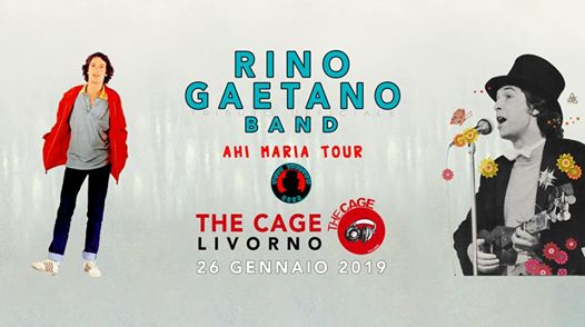 Rino Gaetano Band @The Cage (LI) eventi Livorno eventi LI