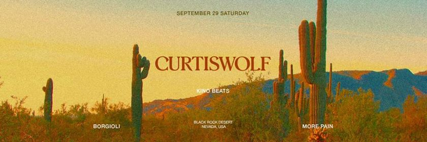 Curtis Wolf - Back To School eventi Roma eventi RM