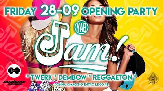 Yab ✯ Jam Opening Party ✯ 28.09 eventi Firenze eventi FI