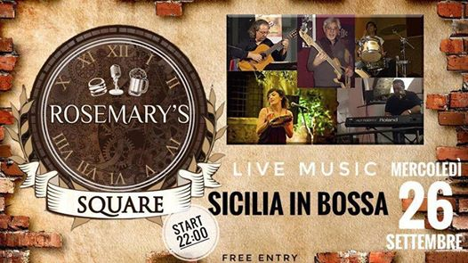 Sicilia in Bossa Live eventi Nicolosi eventi CT