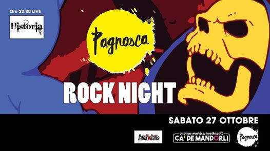 Pagnosca Rock Night feat. Rocknrolla eventi San Lazzaro di Savena eventi BO