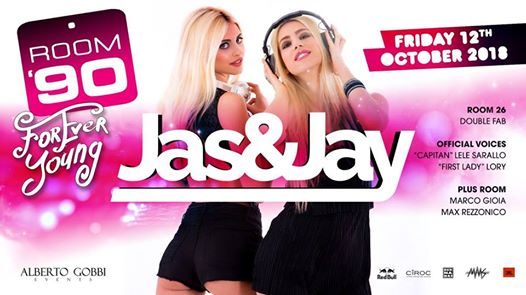 Forever Young pres. Jas&Jay eventi Roma eventi RM