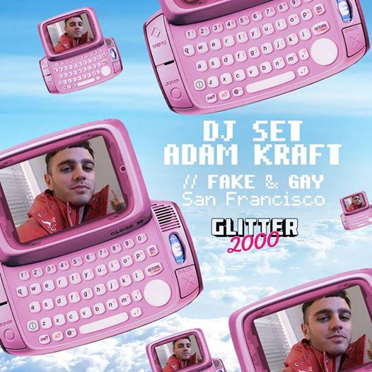 Glitter2000 - DJ set * Adam Kraft * eventi Milano eventi MI