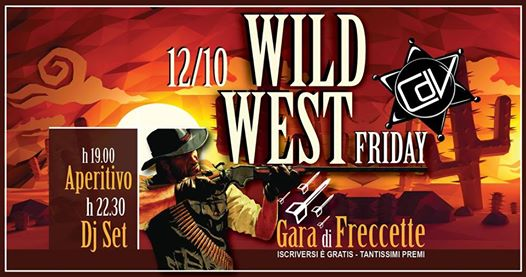 Wild West Friday_Cdv eventi Faenza eventi RA