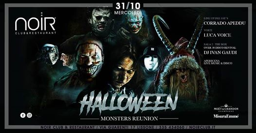 Halloween Monsters Reunion eventi Lissone eventi MB
