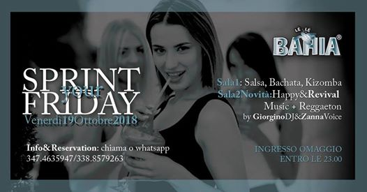 Sprint Your Friday eventi Lissone eventi MB