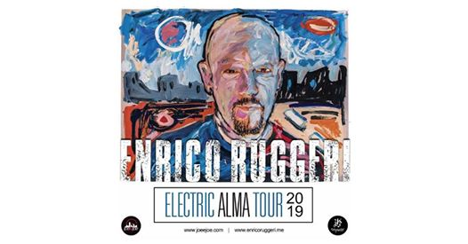 Enrico Ruggeri Electric ALMA Tour 2019 - Milano eventi Milano eventi MI
