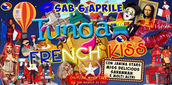 Tunga on Tour -French Kiss- eventi Montecchio eventi TR
