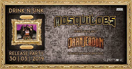 Mosquitoes (Drink 'n' Sink Release Party) + Oranjeboom [LIVE] eventi Foligno eventi PG