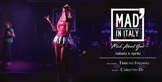 Mad' About You - Tributo Italiano / Carletto Dj eventi Verona eventi VR