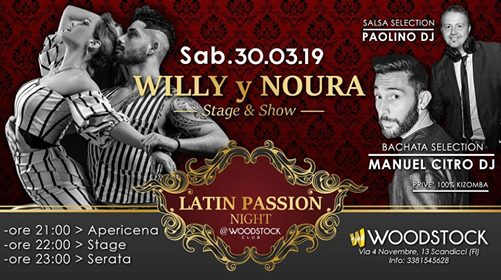 Latin Passion Night #6 at Woodstock Club eventi Scandicci eventi FI