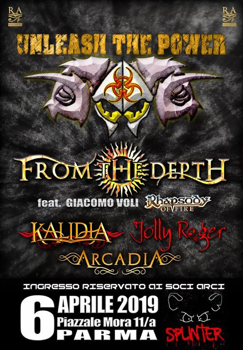 From The Depth (feat. Giacomo Voli), Kalidia,Jolly Roger,Arcadia eventi Parma eventi PR