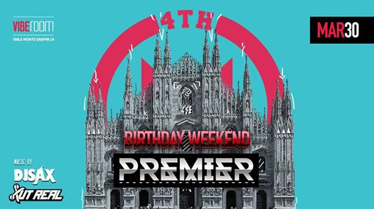 Premier - Every Saturday - VIBE Room eventi Milano eventi MI
