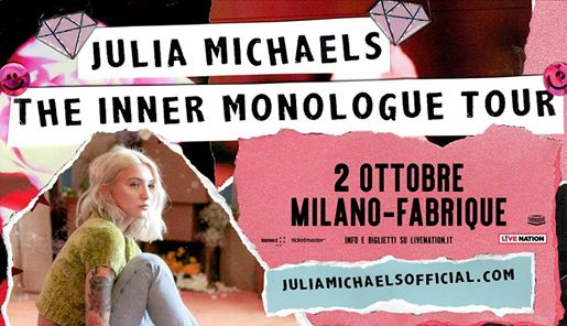 Julia Michaels live a Milano // The Inner Monologue Tour eventi Milano eventi MI