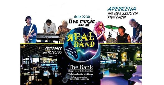 Realband live at The Bank Monza eventi Monza eventi MB
