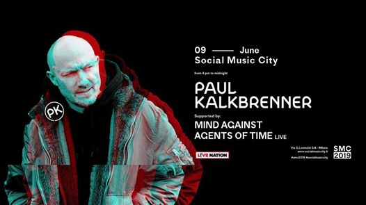 Paul Kalkbrenner at Social Music City 2019 eventi Milano eventi MI