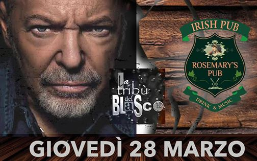 Tribú del Blasco In Concerto eventi Nicolosi eventi CT