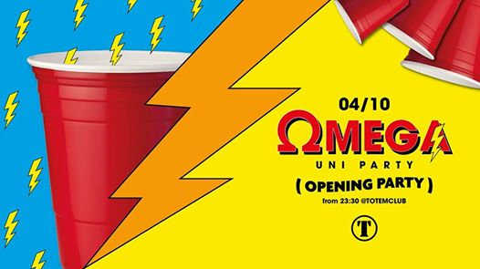 OMEGA Ω UniParty - The Opening @Totem Club eventi Vicenza eventi VI