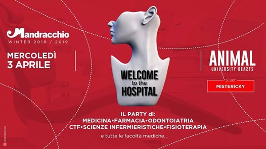 AnimaL #8 Welcome To The Hospital eventi Trieste eventi TS