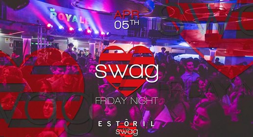 Swag Friday • Best Party in Town • Estoril eventi Genova eventi GE