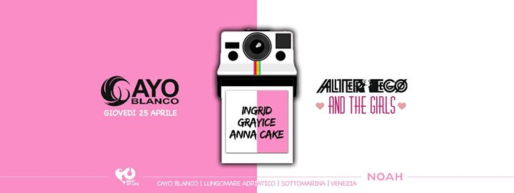 ALTER EGO and the Girls eventi Chioggia eventi VE
