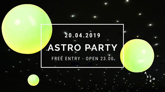 20.04 | ASTRO PARTY | Live Fabricio Alvarez > free entry eventi Fontanafredda eventi PN