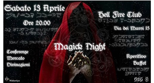Magick Night: Rebis Edition eventi Roma eventi RM