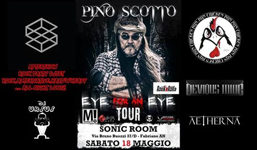 Pino Scotto Live at SonicRoom/RunChickenRun/DeviousMine/Aetherna eventi Fabriano eventi AN