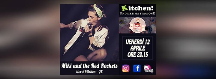 Rock the Kitchen! - Miki and the Red Rocktes eventi Genova eventi GE