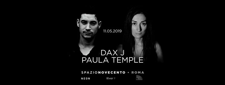 Dax J / Paula Temple at Spazio900 official eventi Roma eventi RM