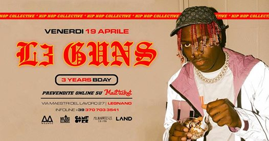 L3 GUNS Bday at Land | 19.04.2019 - HIP HOP Collective © eventi Legnano eventi MI