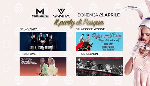 Mascara - Vanità Club | Pasqua 2019 eventi Mantova eventi MN