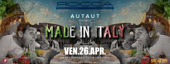 Made in Italy - La Rocca Gold eventi Arona eventi NO