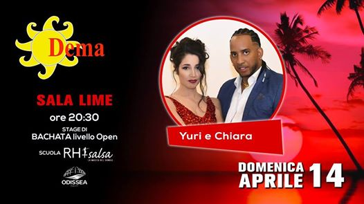 Dema Latino - Stage Bachata Open | Rh+ Salsa eventi Spresiano eventi TV
