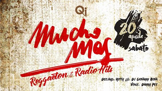 Mucho Mas - Reggaeton & Radio Hits eventi Erbusco eventi BS