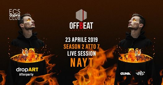 OFFBEAT presenta: NAYT - Afterparty Dropart- eventi Catania eventi CT