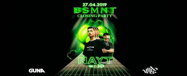 Basement - NAYT Closing party - Lattepiùlive 27.04.19 #bsmnt eventi Brescia eventi BS