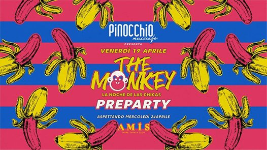 The Monkey pre party • Waiting for Amis • Pinocchio Musicafè eventi Vicenza eventi VI