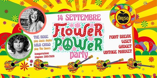 Flower Power Party ✦ Inaugurazione Druso 2019/20 eventi Ranica eventi BG