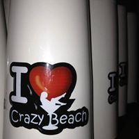 Crazy beach lounge bar