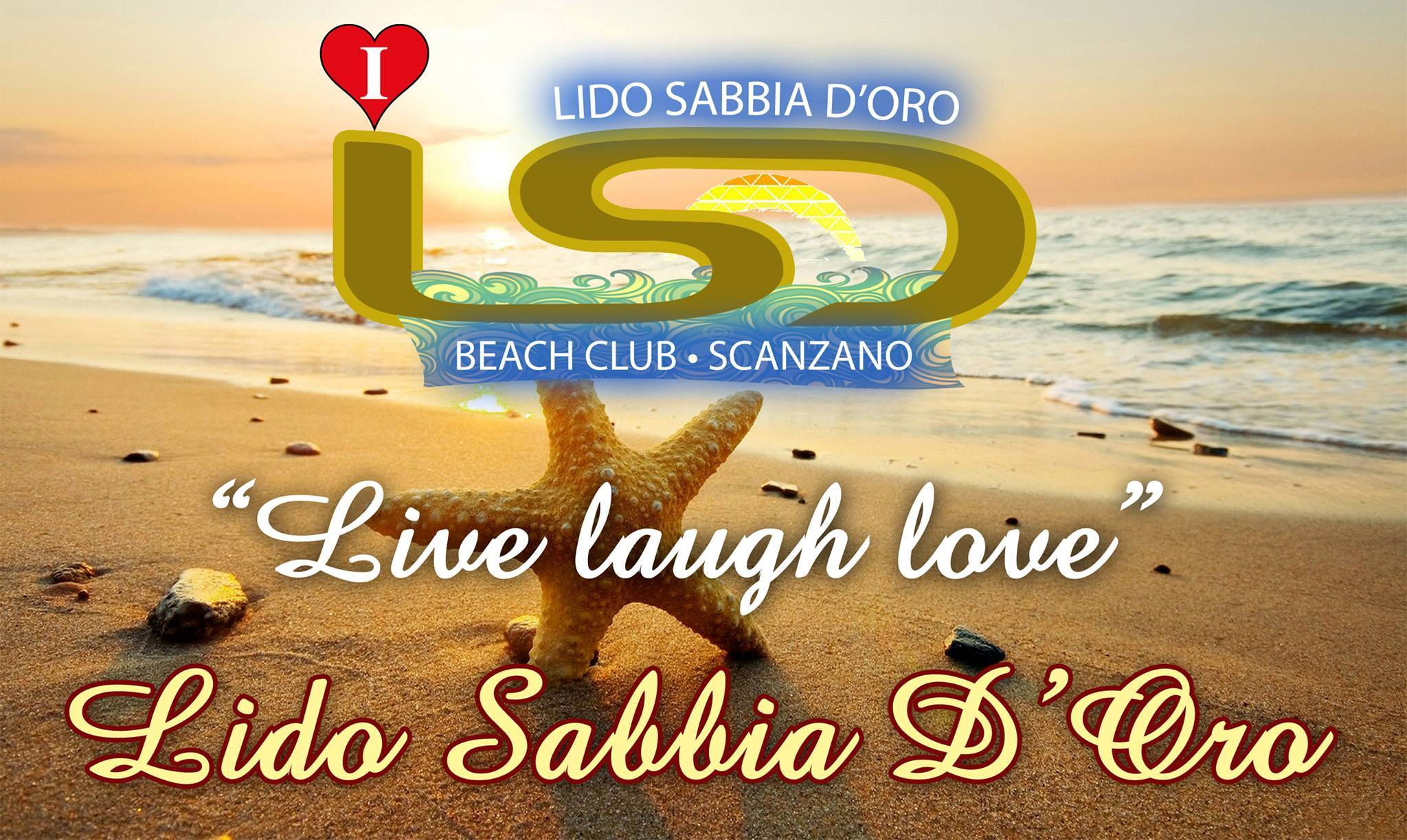 I LOVE LIDO SABBIA D'ORO - BEACH CLUB